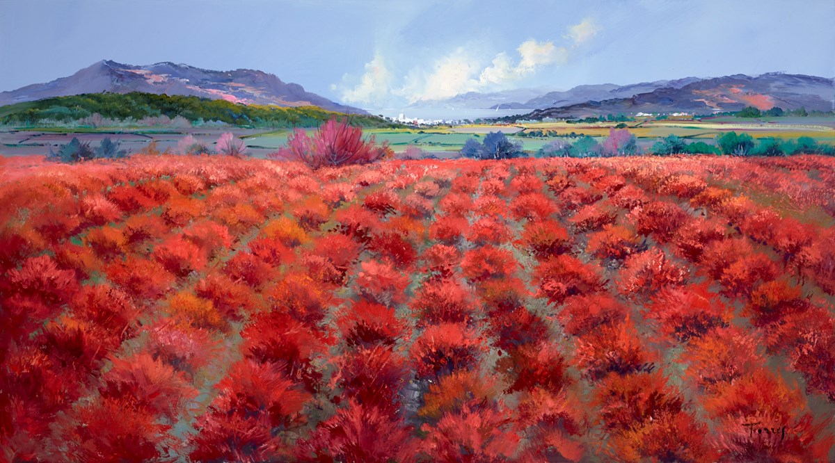Distant Fields  by torres -  sized 57x32 inches. Available from Whitewall Galleries